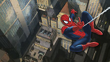 Ultimate Spiderman Xl Wall Mural Prepasted Wallpaper Marvel Bedroom Decorations