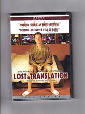 Lost In Translation Dvd Full Screen Edition Bill Murray Scarlet Johansson Sealed