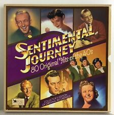 Sentimental Journey 80 Original Hits Of The 40s Record 7 Lp Box Set NM