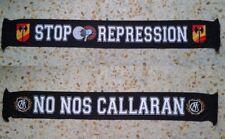BUFANDA SCARF REAL MADRID ULTRAS SUR STOP REPRESSION HINCHAS ULTRAS SUPPORTERS