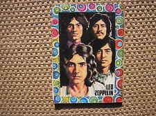 LED ZEPPELIN DRAWING COVER ITALY COMICS 1971 MAGAZINE COPERTINA