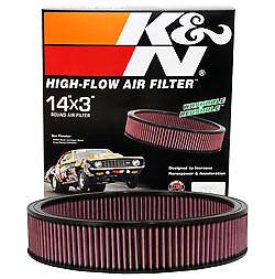 K&N Air Filter for OLDSMOBILE 1985 TORONADO 5.7L V8 DSL - All,  E-1650