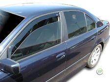 BMW 5 SERIES E39 1995-2003 SET OF FRONT WIND DEFLECTORS HEKO TINTED 2pc
