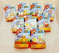 """Super Mario, World of Nintendo, Mario and Friends Action Figures, NEW, 4"""" Only"""