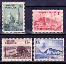 1938  BELGIQUE    Y & T   N° 484 à 487   Neufs*  AVEC CHARNIÈRE