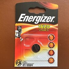 NEUF Energizer 1620 CR1620 3 V Lithium Coin Cell batterie DL1620 KCR1620 BR1620