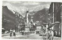 Austria - Innsbruck, Maria Theresienstrasse... - Vintage Real Photo Postcard