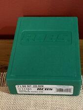 Rcbs 11101 Group A F L Die Set for .223 Remington Excellent Condition!