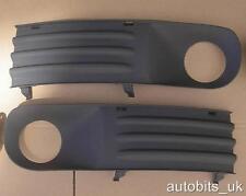 NEW FRONT BUMPER GRILLES L+R FOR VW TRANSPORTER T5 2003-2010 WITHOUT FOG LIGHTS