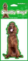 2 x Irish Red Setter Breed of Dog Air Freshener