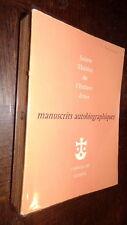 SAINTE-THERESE DE L'ENFANT JESUS - Manuscrits autobiographiques - 1957 - b