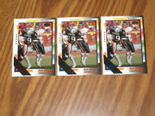 1992 WILD CARD 3 CARD LOT RON RIVERA #285 WITH 20-10-5 STRIPES