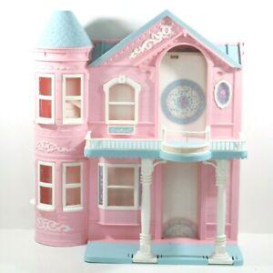 Vintage Doll House 1995 Barbie's Victorian Dream House Foldable
