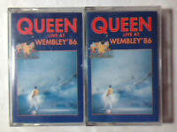2 CASSETTE Queen ‎– Live At Wembley '86 ITALY 1992