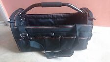 CONTRACTOR 1st OPEN CLOSE TOTE TOOL CADDY BAG HEAVY DUTY BASE CARRY CASE HOLDALL