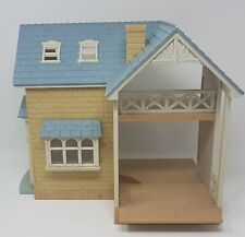 SYLVANIAN FAMILIES ~ BLUEBELL COTTAGE House Riverside LODGE with FIRE