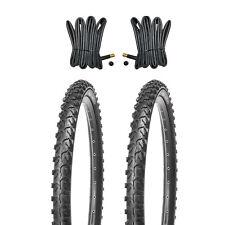 2x KUJO Mountainbike Reifen Fahrradreifen 24 Zoll  24x1.95 inkl. 2x Schlauch AV