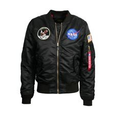 Alpha Industries L-2B Apollo Jacket/Bomber Black, New Silver  MJL47040C1