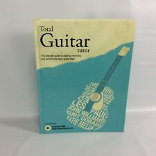 Total Guitar Tutor Book Terry Burrows Interactive Tutorial CD Hard Cover 2010