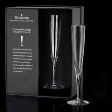 Waterford Elegance Champagne Trumpet Flute Set of 2 NIB