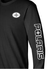 POLARIS SNOWMOBILE ATV Long Sleeve T-Shirt SIZES TO 5X Choose Design Color outln