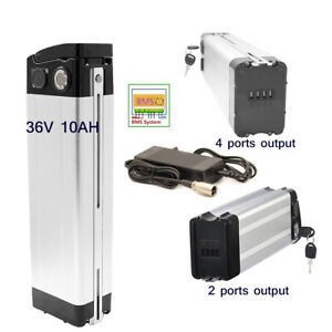 SilverFish 36V 10Ah Bicycle Battery 250W 350W Electric Scooter E-Bike 2 4 Pongs