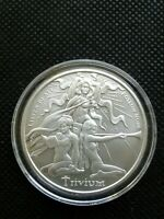 Trivium Girls - 1 oz. BU .999 Silver Round Silver Shield