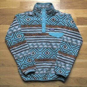 Patagonia Synchilla Fleece Jumper Large Kids Size Polyester
