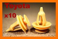 10 Toyota Land Cruiser Panel De La Puerta Tarjeta Recortar clips de retención del sujetador