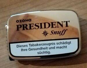 (EUR 32,86 / 100 g) 5 x 7g Ozona President Snuff von Pöschl Schnupftabak