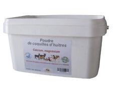 ALIMENTATION ALIMENT COMPLÉMENT POUDRE D'HUÎTRES POUR POULES 4 KG Réf FP0058