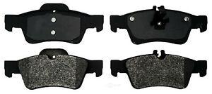 Disc Brake Pad Set-Semi-Metallic Rear ACDelco 17D986M