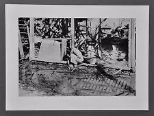 Robert Capa Photo Heliogravure 40x30cm Hankow China Aftermath Air Raid 1936 B&W