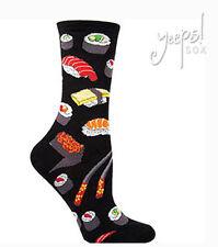 Sushi Socks - Socksmith NEW funky novelty Crew Socks black