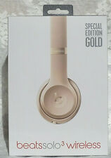 Beats by Dr. Dre Solo3 Wireless Over the Ear Headphones - Gold Special Edition