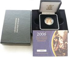 More details for 2006 royal mint st george and the dragon gold proof full sovereign coin box coa