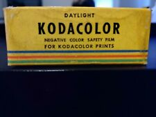 1953 KODAK C120 KODACOLOR DAYLIGHT NEGATIVE COLOR SAFETY FILM