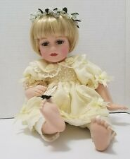 Butterfly Kisses Precious Collection Porcelain Doll # 1 EUC
