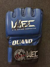 UFC Ultimate Fighting Anthony Pettis Autographed Signed Authentic WEC Glove COA