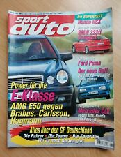 Sport Auto 8/1997 - Honda NSX Supertest - Caterham Seven Superlight - CLK 230