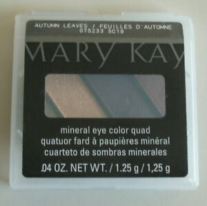 Mary Kay Mineral Eye Color Shadow Quad Autumn Leaves 075223 New in Box Old Stock