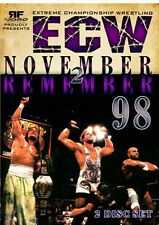 ECW Wrestling: November To Remember 1998 DVD-R, RVD Sabu WWE Rob Van Dam WWF WCW