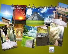 85 DIGITAL PHOTOGRAPHY  FANTASY  BACKGROUNDS BACKDROPS  GREEN SCREEN Vol 1