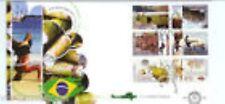 Nederland fdc  591 Grenzeloos Nederland-Brazilie 2009