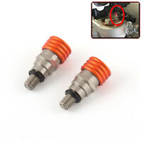 M4x0.7 Pitch Fork Air Bleeder Valves For KTM 200XCW 2006-2015 250EXC 1990-2005