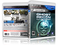 Tom Clancy's Ghost Recon: Future Soldier - Replacement PS3 Cover & Case.NO GAME!