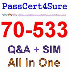 Best Exam Practice Material for 70-533 Exam Q&A+SIM