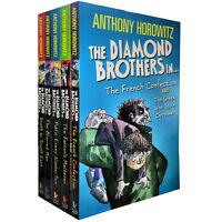 Diamond Brothers Collection By Anthony Horowitz 5 Books Box Set Paperback New UK