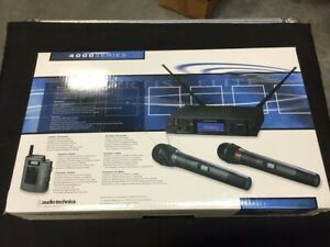 Audio Technica AEW-4110D UHF Body-Pack Wireless Microphone System 656-680MHz