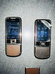 2X Nokia 8800 Carbon Arte - (Unlocked) Mobile Phone